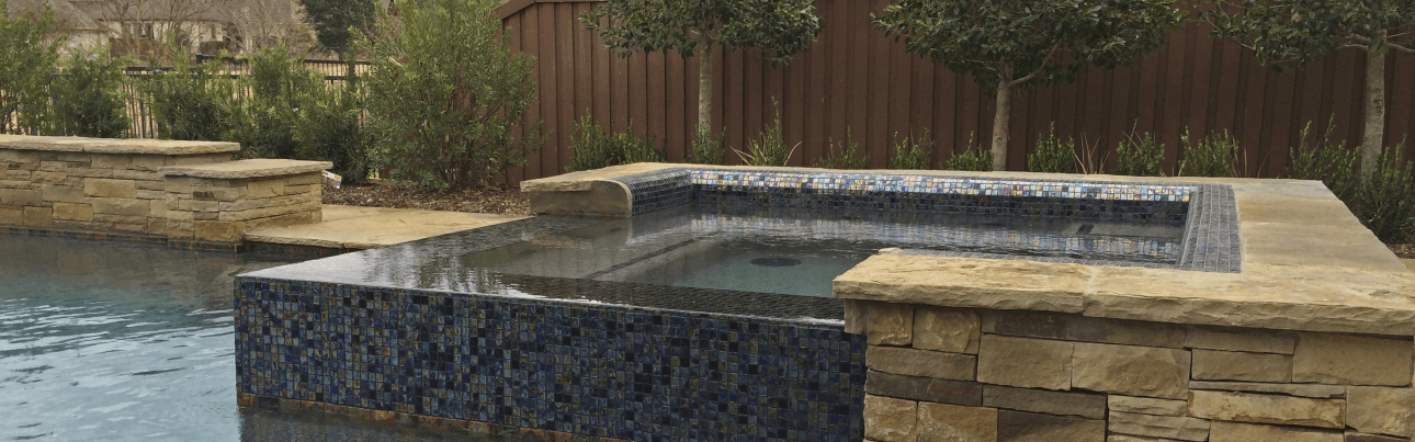 Custom Inground Spa Design, spa gallery photos Dallas Frisco